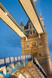 Tower Bridge opening Royalty Free Stock Photo
