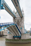 Tower Bridge Opening London Stock Photography