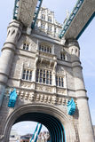 Tower Bridge over River Thames Stock Photo