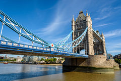Tower Bridge over the River Thames, London, UK, England Stock Images