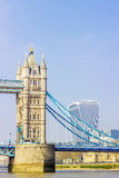 Tower Bridge over Thames river Royalty Free Stock Image