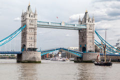 Tower Bridge in London Stock Photography