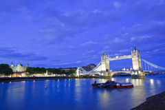 Tower Bridge Panorama Stock Photography