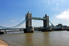 Tower Bridge Panorama Royalty Free Stock Image