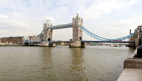 Tower Bridge panorama Stock Photos