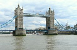 Tower Bridge panorama Royalty Free Stock Photography