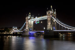 Tower Bridge and the Paralympic Logo Stock Image