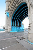 Tower bridge passage Royalty Free Stock Photos