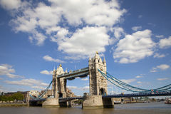 Tower Bridge and the River Thames Royalty Free Stock Photography
