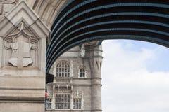 Tower Bridge on the River Thames, details, London, United Kingdom Stock Photos