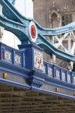 Tower Bridge on the River Thames, details, London, United Kingdom Royalty Free Stock Image