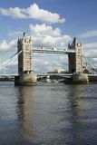Tower bridge river thames London England Royalty Free Stock Photo