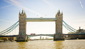 Tower Bridge, River Thames, London, England Royalty Free Stock Photo
