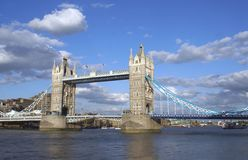 Tower Bridge, River Thames, London, England Stock Photos