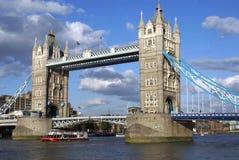 Tower Bridge, River Thames, London, England Stock Photography