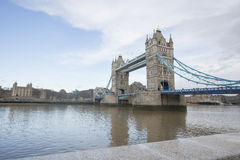 Tower Bridge and the River Thames, London, UK royalty free stock images