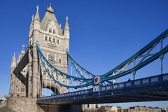 Tower Bridge on the River Thames royalty free stock image