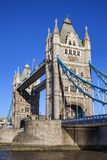 Tower Bridge on the River Thames royalty free stock photography
