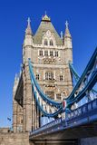 Tower Bridge on the River Thames stock images