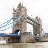 Tower Bridge on the River Thames, London, United Kingdom Royalty Free Stock Photos
