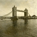 Tower Bridge and The River Thames at Sunset Royalty Free Stock Photography