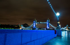 Tower Bridge Riverside Walk Stock Images