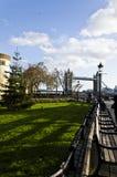 Tower Bridge Road, London stock image