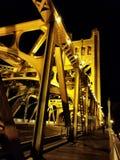 Tower Bridge, Sacramento, CA, USA Stock Images