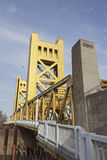 Tower Bridge at Sacramento Stock Image