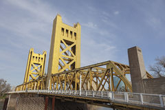 Tower Bridge at Sacramento Stock Photography