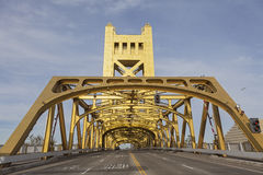 Tower Bridge at Sacramento Royalty Free Stock Photography