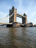Tower Bridge Scene 4. A view of Tower Bridge and the River Thames Stock Photo