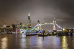 Tower Bridge and The Shard Royalty Free Stock Photo