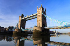 Tower Bridge on Sunny Day ,London United Kingdom Royalty Free Stock Images