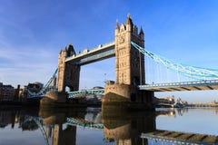 Tower Bridge on Sunny Day ,London United Kingdom Royalty Free Stock Images