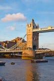 Tower Bridge at sunset Royalty Free Stock Images