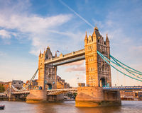 Tower Bridge at sunset Stock Photo