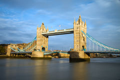 Tower Bridge at sunset, London Stock Image