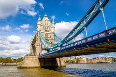Tower Bridge, a symbol of London Royalty Free Stock Images