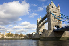 Tower Bridge and the Tower Of Royalty Free Stock Image