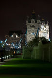 Tower Bridge and Tower of London Stock Photo