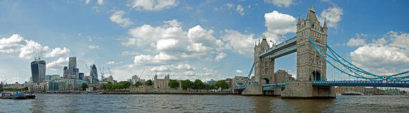 Tower Bridge and Tower of London Royalty Free Stock Photography