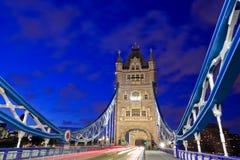 Tower Bridge Traffic Stock Image