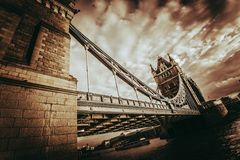 Tower Bridge United Kingdom Stock Photo