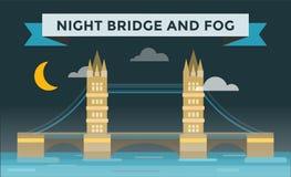 Tower bridge vector illustration Stock Photos