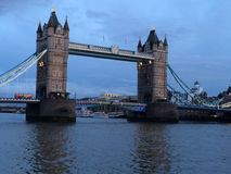 Tower Bridge. View of tower bridge from north bank Stock Photos