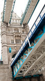 Tower Bridge  on white Stock Images
