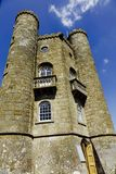 Tower. Broadway tower Cotswolds summer, tower, traditional, travel, vertical, Broadway, folly, follies, country, park, Worcestershire, Cotswold, Cotswolds Royalty Free Stock Images