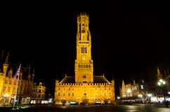 Tower in bruges Stock Image