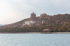 Temples at the Summer Palace stock photos